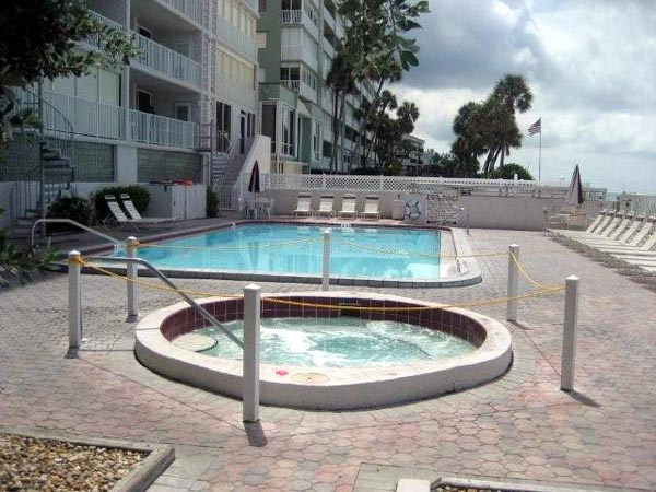 family vacation condo Indian Rocks Beach